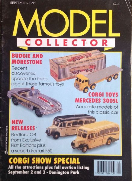 ORIGINAL MODEL COLLECTOR MAGAZINE September 1995